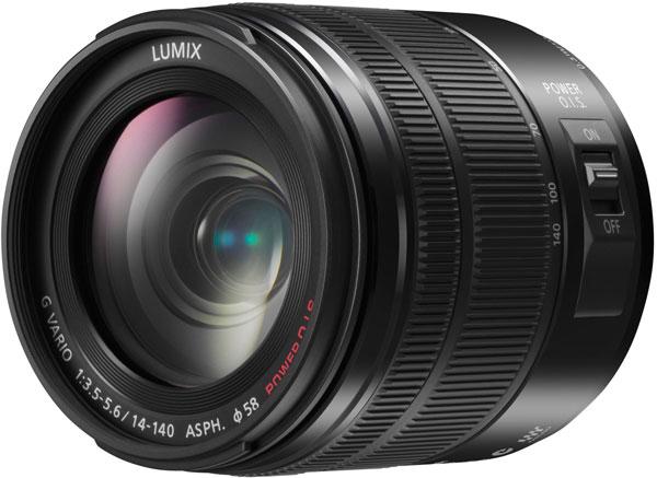 Объектив Panasonic Lumix G Vario 14-140mm F3.5-5.6 APSH. Power OIS соответствует спецификации Micro Four Thirds