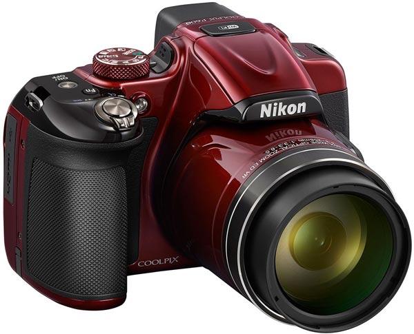 Камера Nikon Coolpix P600 оснащена объективом с 60-кратным зумом
