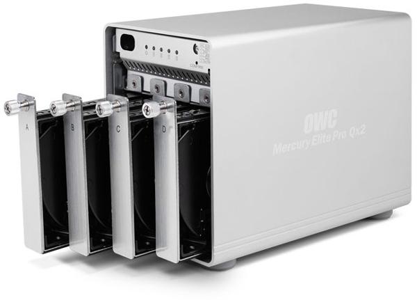 Внешний дисковый массив OWC Mercury Elite Pro Qx2 объемом 20 ТБ стоит $1580