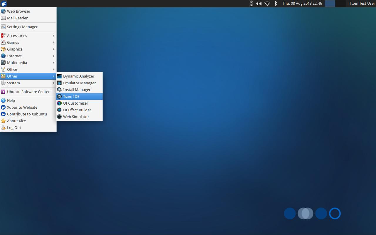 Образы Tizen SDK Live на базе Ubuntu