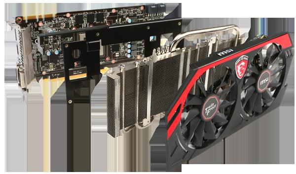 MSI Radeon R9 270X Gaming 4G