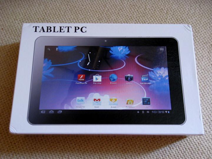 Обзор 10 дюймового планшета с IPS экраном