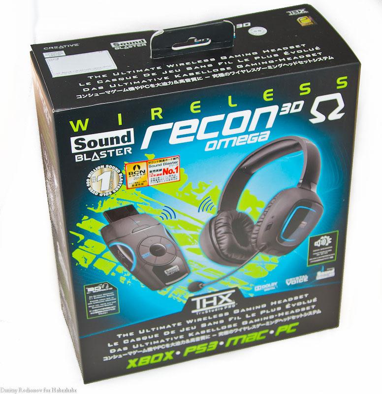 Обзор беспроводной гарнитуры Creative Sound Blaster Recon3D Omega Wireless