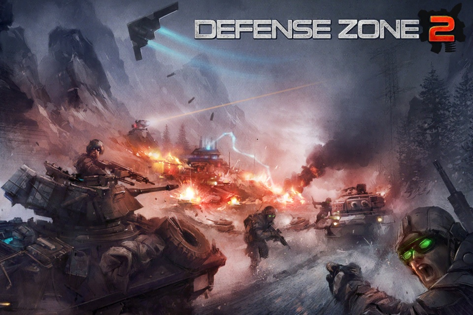 Обзор игры Defense Zone 2 HD