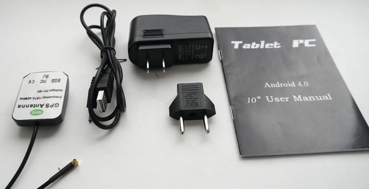 Обзор планшета с внешней GPS антенной Zenithink Z102