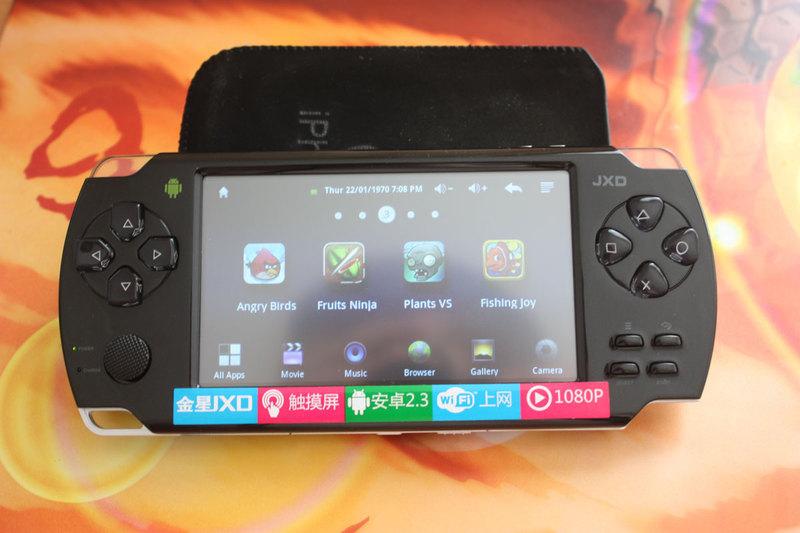 Обзор портативной игровой консоли на базе Android JXD S601 за 77$