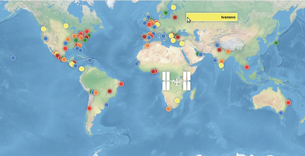 Очередной International Space Apps Challenge… теперь и в России