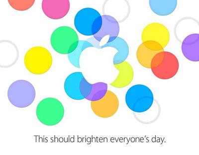 Приглашение Apple на сентябрьское мероприятие