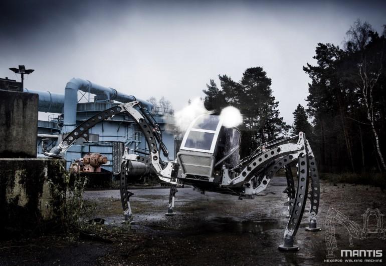 Огромный турбо дизельный гексапод Mantis