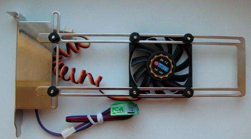 Охлаждение аппаратного RAID контроллера в десктопном корпусе