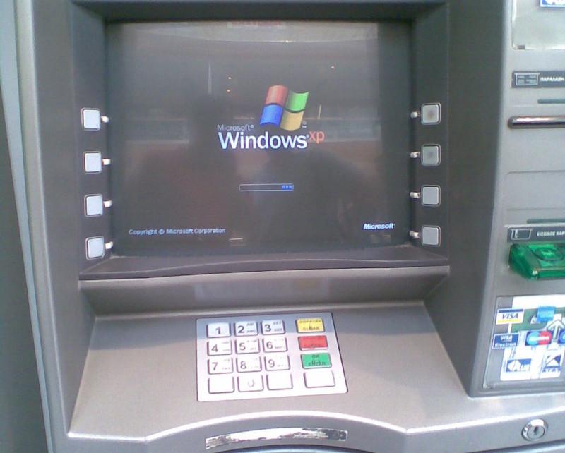 Окончание поддержки Windows XP может подстегнуть переход банкоматов на Linux