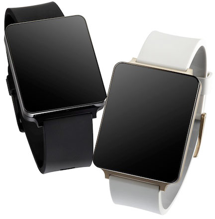 Умные часы LG G Watch будут совместимы со смартфонами производства не только LG, но и других компаний