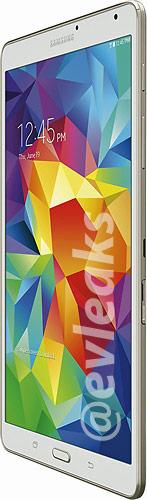 От старшей модели планшет Samsung Galaxy Tab S 8.4 отличает компоновка