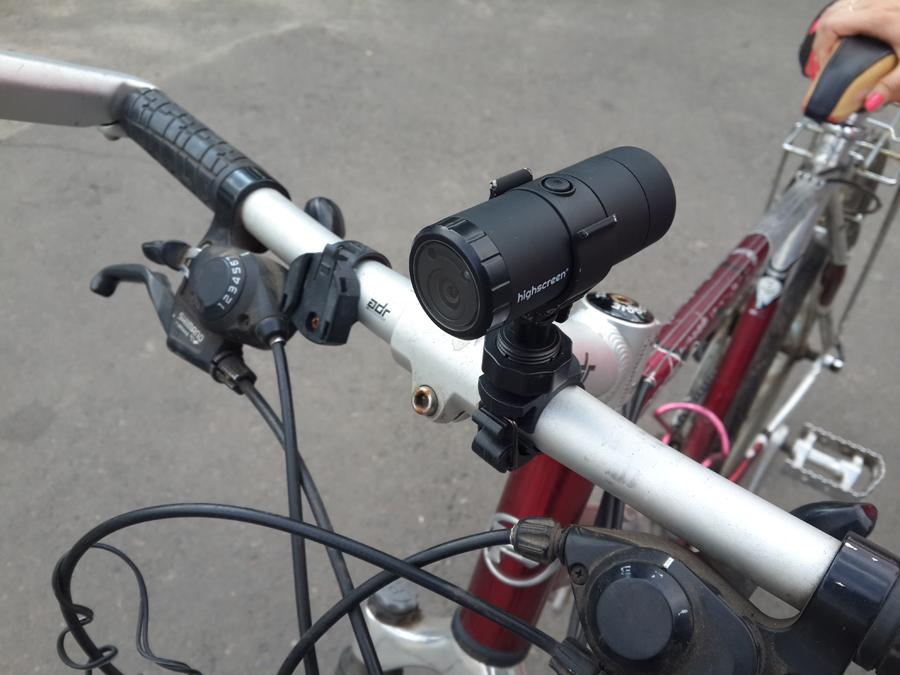Видео регистраторы велосипедиста видео с регистратора погони дпс