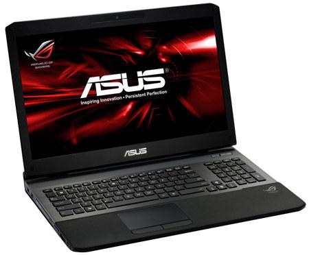 Ноутбуки ASUS ROG G75VW и G55VW имеют матовые экраны