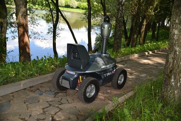 Отечественный разработчик автономных роботов шасси или наш ответ автомобилям Google
