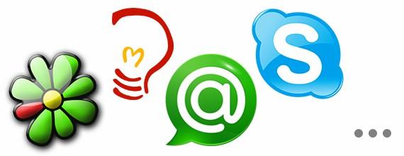 Отображение статусов ICQ, Jabber, Skype и MRA на сайте в произвольном виде