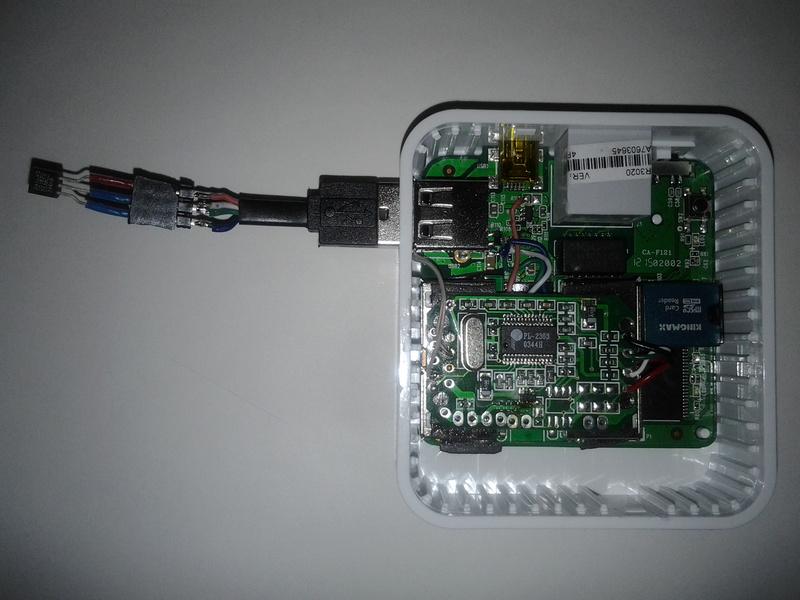 Отправка данных о температуре с роутера TL MR3020 и Raspberry Pi на «Народный мониторинг»