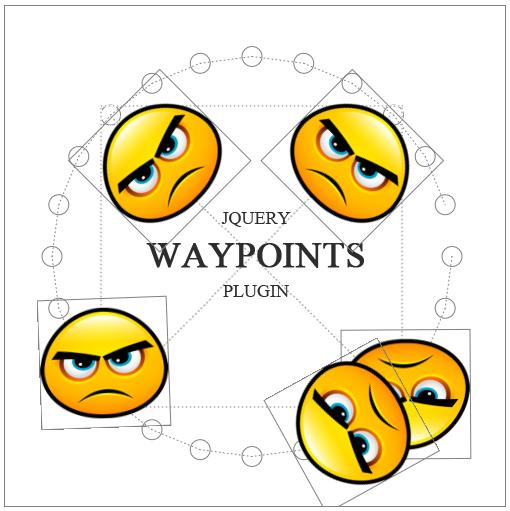 Отправляем теги в путешествие (jquery.waypoints)
