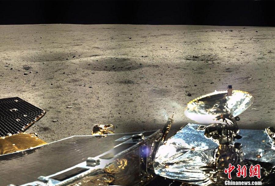 Панорама Луны от «Чанъе 3» и выход из строя главной цветной камеры посадочного модуля