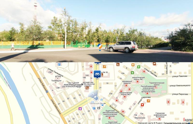 Панорамы на Яндекс.Картах с помощью KRPano