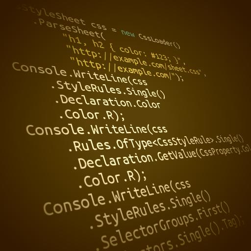 Парсер CSS для .NET, написанный на C#