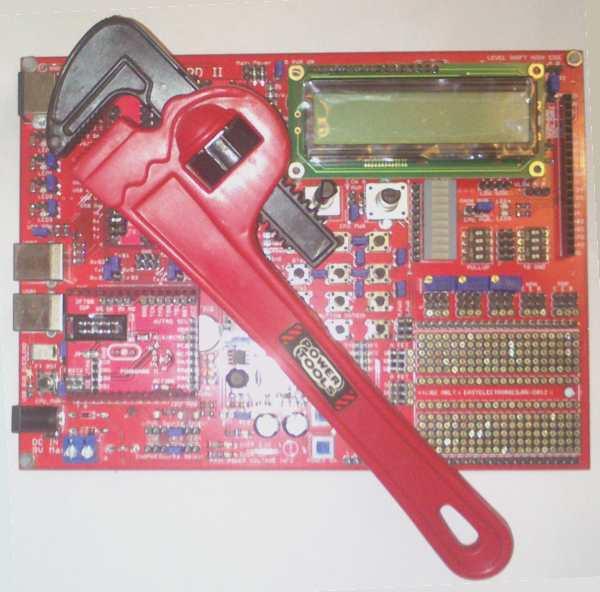 Первые впечатления о PinBoard II R2 AVR + STM32
