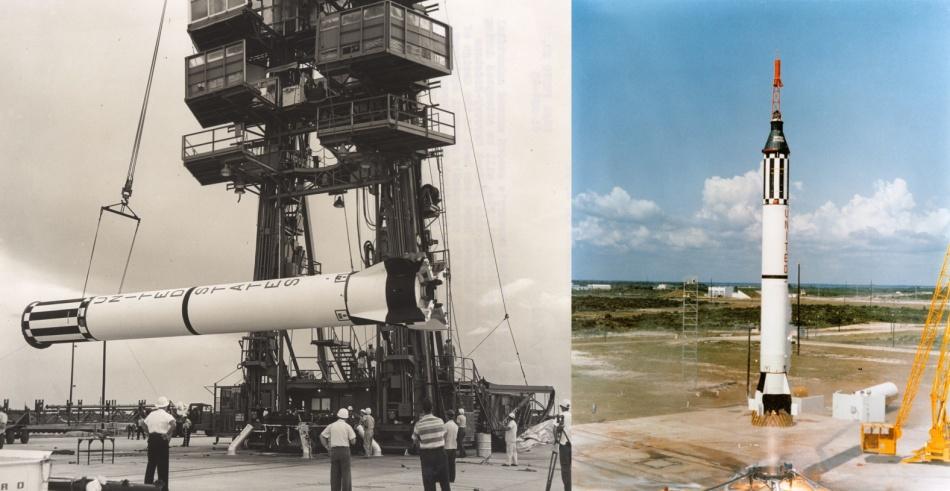 Первый прыжок в космос США