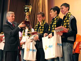 Петербургские студенты – чемпионы России по программированию 2012 года