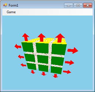 Пишем эмулятор Кубика Рубика