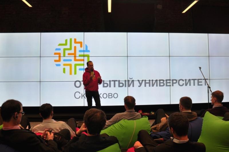 Питер Вестербакка в Сколково