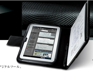 Планшет сканер от Casio (android)
