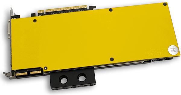 Цена пластин EK Water Blocks EK-FC780 GTX Ti Backplate и EK-FC R9-290X Backplate примерно равна 32 евро