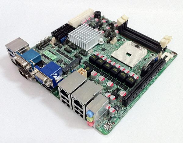 Плата Jetway NF82 типоразмера mini-ITX рассчитана на гибридные процессоры AMD серии R