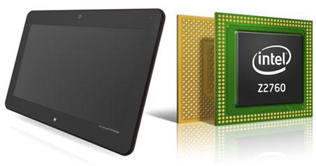 На базе Intel Atom Z2760 можно выпускать планшеты толщиной 8,5 мм