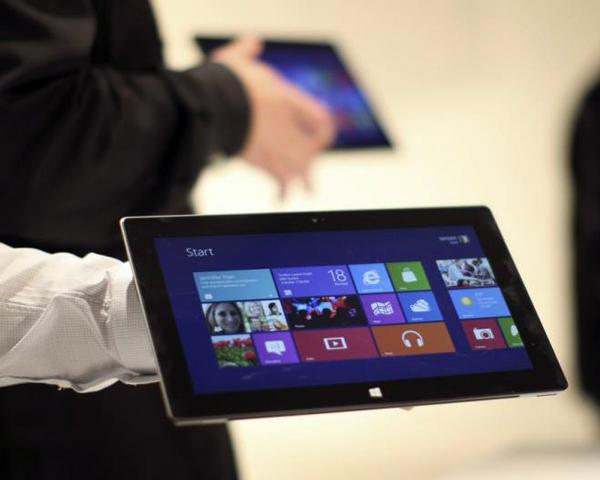 Ожидается, что серийный выпуск семидюймовых планшетов Microsoft Surface начнется в текущем году
