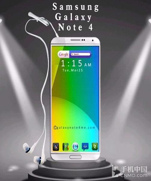 Выход Samsung Galaxy Note 4 ожидается в сентябре