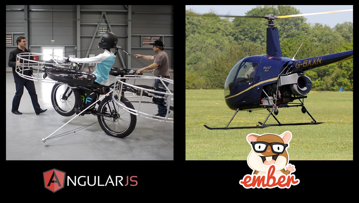 Angular vs Ember development process