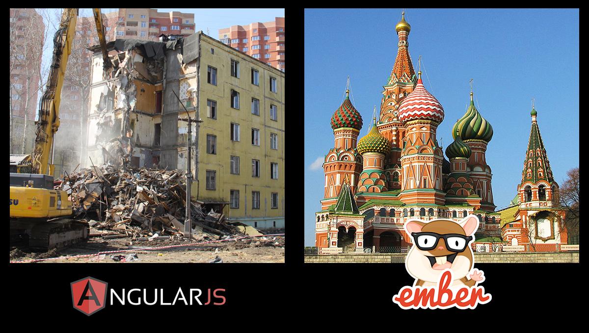 Angular vs Ember support