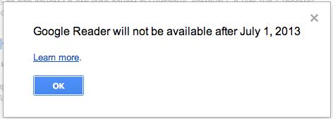 Почему Google решил закрыть Google Reader или насколько популярен RSS?