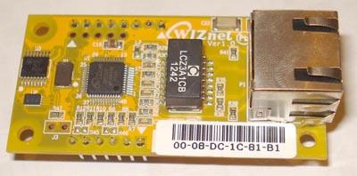 Подключаем новенький чип от WIZnet: W5500. IP для маленьких вещей. Часть 1