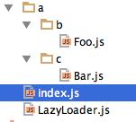 Подключение модулей без явного использования require или аналог namespace