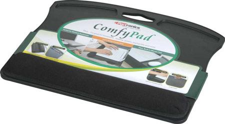 Подставка Portronics Comfy Pad предназначена для любителей держать ноутбук на коленях