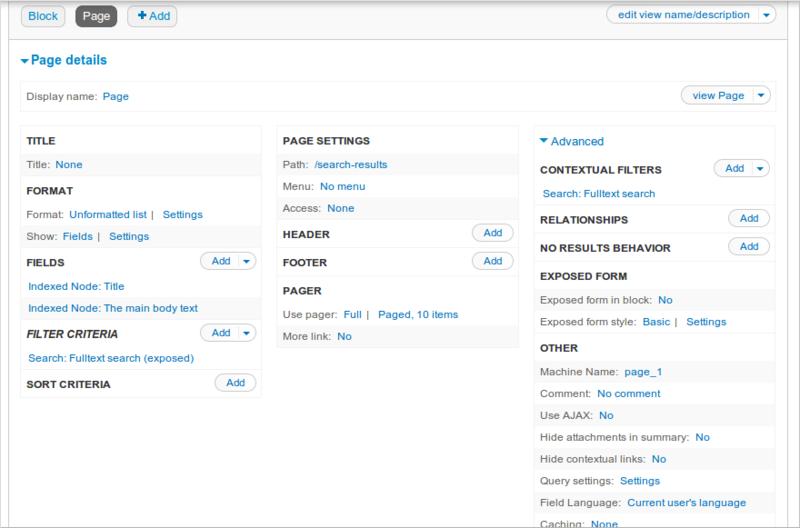 Поиск на Drupal 7 с помощью Apache Solr ч.1 — базовая настройка