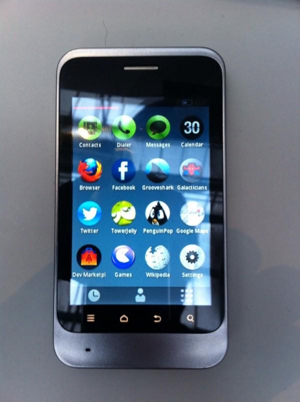Показан прототип смартфона на Firefox OS