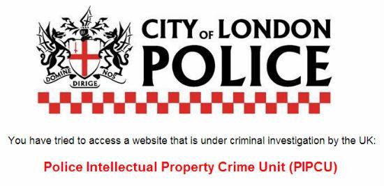 Полиция Лондон Сити успешно воюет с крупнейшими торрент трекерами
