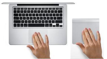 scroll macbook