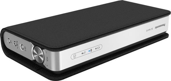 Модель Panasonic SC-NA10 выпускается черного и серебристого цветов