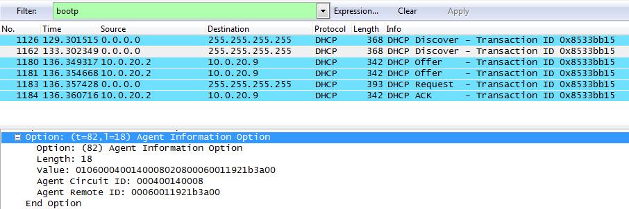 Построение провайдерской сети на коммутаторах Cisco с использованием Option 82 и Dynamic ARP Inspection