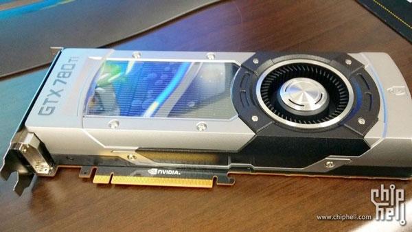 Появились изображения 3D-карты Nvidia GeForce GTX 780 Ti и результаты тестов производительности